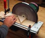Dowel Chamfering Jig Woodworking Plan