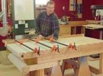 fee plans woodworking resource from WoodworkersWorkshop Online Store - clamps,clamp supports,pipe clamps,downloadable PDF,patterns,workshops,jig,woodworking plans,woodworkers projects,blueprints,WOODmagazine,WOODStore