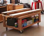 On-the-Go Storage Cart Woodworking Plan