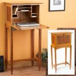 Drop Front Desk Woodworking Plan