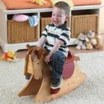 Quick and Easy Rocking Horse Woodworking Plan