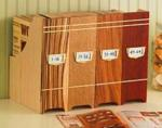 Magazine File Boxes Woodworking Plan