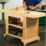 31-MD-00735 - Budget Friendly Workbench Woodworking Plan