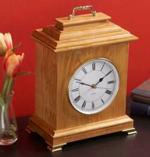 Mantel Clock Woodworking Plan.