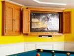 Slim-Profile TV and Game Cabinet Woodworking Plan