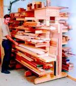 Modular Lumber Rack Woodworking Plan