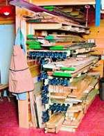 fee plans woodworking resource from WoodworkersWorkshop Online Store - lumber racks,clamp racks,storage,downloadable PDF,patterns,workshops,woodworking plans,woodworkers projects,blueprints,WOODmagazine,WOODStore