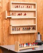 Easy-Access Router-Bit Storage Downloadable Woodworking Plan PDF, router bits,storage,cabinets,downloadable PDF,patterns,workshops,wall mounted,woodworking plans,woodworkers projects,blueprints,WOODmagazine,WOODStore