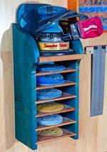 Random Orbit Sanding Center Woodworking Plan