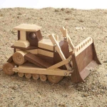31-MD-00853 - Bulldozer Construction Grade Model Woodworking Plan