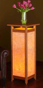 31-MD-00862 - Luminous Display Pedestal Woodworking Plan