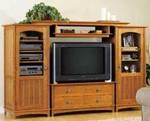 Entertainment Center Cabinet Set Woodworking Plan