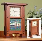 Greene and Greene-Style Clock Woodworking Plan.