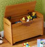 31-MD-00873 - Toy Box or Blanket Chest Woodworking Plan.