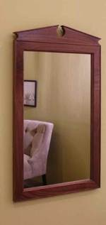 fee plans woodworking resource from WoodworkersWorkshop Online Store - mirrors,wall mounted,wall mirror,downloadable PDF,patterns,federal,pediment,hall mirror,woodworking plans,woodworkers projects,blueprints,WOODmagazine,WOODStore