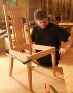 Elegant Chair Woodworking Plan.