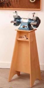 Grinder Grand Stand Woodworking Plan