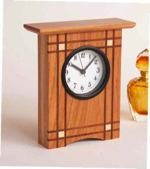 Crisscross Clock Woodworking Plan