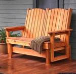 Easy Breezy Glider Downloadable Woodworking Plan PDF, gliders,outdoors,loveseat gliders,downloadable PDF,patterns,love seat gliders,woodworking plans,woodworkers projects,blueprints,WOODmagazine,WOODStore