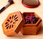 Scrollsawn Potpourri Box Downloadable Woodworking Plan PDF, boxes,scroll saw, potpourri,downloadable PDF,patterns,six sided box,storage,scrollsaw,scrollsawn,woodworking plans,woodworkers projects,blueprints,WOODmagazine,WOODStore