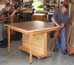 fee plans woodworking resource from WoodworkersWorkshop Online Store - workbench,worktables,folding,downloadable PDF,patterns,workshops,stores flat,woodworking plans,woodworkers projects,blueprints,WOODmagazine,WOODStore