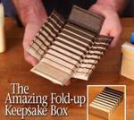 Fold Up Keepsake Box Woodworking Plan