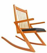 31-MD-00905 - ZigZag Rocker Chair Woodworking Plan