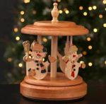Music Box Carousel Woodworking Plan