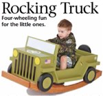 Rocking Truck Woodworking Plan.