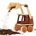 Construction-grade Skid Loader Woodworking Plan