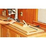 Mortising Table Extensions Jig Woodworking Plan