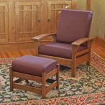 fee plans woodworking resource from WoodworkersWorkshop Online Store - Morris style chairs,ottomans,Arts and Crafts furtniture,downloadable PDF,patterns,woodworking plans,woodworkers projects,blueprints,WOODmagazine,WOODStore