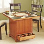 Store-It-All Game Table Woodworking Plan