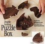 31-MD-00944 - Double Locking Puzzle Box Woodworking Plan.