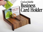 Business Card Holder Woodworking Plan.