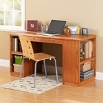 Build-to-Suit Study Desk Woodworking Plan.