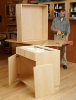 31-MD-00953 - Frameless Cabinets Woodworking Plan