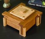 fee plans woodworking resource from WoodworkersWorkshop Online Store - Prairie School design,Frank Lloyd Wright,keepsake boxes,jewellry cases,downloadable PDF,patterns,woodworking plans,woodworkers projects,blueprints,WOODmagazine,WOODStore