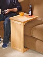 Sofa Server Woodworking Plan.