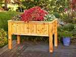 Raised Planter Woodworking Plan.
