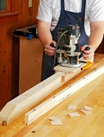 Mortising Jig Woodworking Plan.