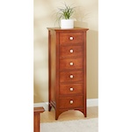 31-MD-00985 - Traditional Lingerie Chest Woodworking Plan