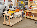 fee plans woodworking resource from WoodworkersWorkshop� Online Store - workshop, workbenches,fliptop,flip-top,spave saving,,full sized patterns,woodworking plans,woodworkers projects,blueprints,drawings,blueprints,how-to-build