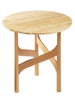 Elegant Accent Table Woodworking Plan.