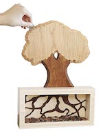 Money Tree Coin Bank Woodworking Plan