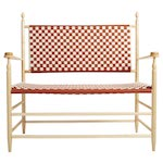Woven Seat Shaker Bench Woodworking Plan