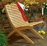 31-OFS-1005 - Two Part Patio Chair Woodworking Plan.