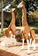 31-OFS-1020 - 4 Foot Jim Dandy Giraffes Woodworking Plan.