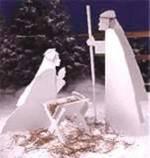 Nativity Scene Woodworking Plan.