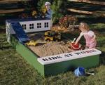 Sandbox Woodworking Plan.